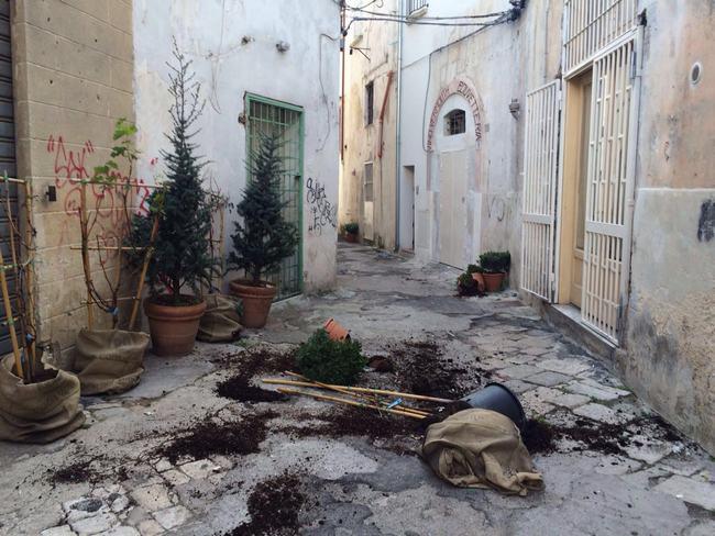 Porta di mare notte brava in centro storico danni in - Porta di mare cronaca nardo ...