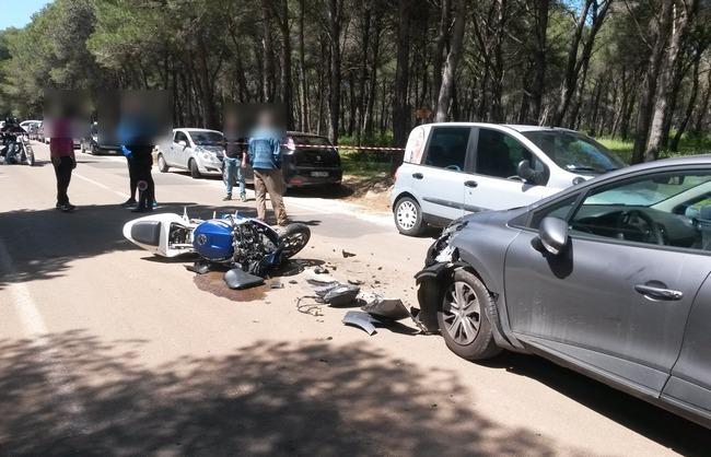 Porta di mare tremendo incidente tra auto e moto a - Porta di mare cronaca nardo ...