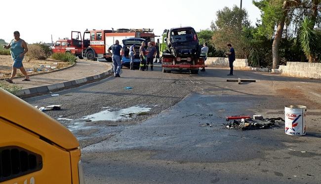 Incidenti stradali: turista morta e tre feriti in Salento