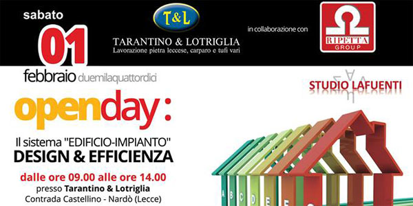 open day tarant lotriglia a